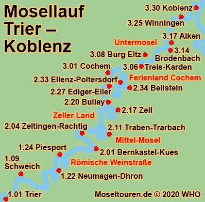 Mosel Hohenwanderweg Wandern Koblenz Winningen Mosel Hohenweg